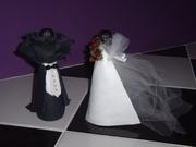 Casal de noivos Convite