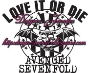 vetorização avenged sevenfold