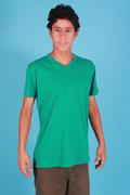 T-shirt-V-neck-Pima-cotton
