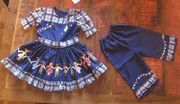 roupas para  festas juninas