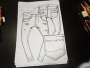 calça  masculina denim menwear