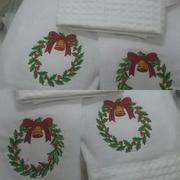 Pano de Prato de  Natal.