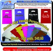 Sacolas Alça Vazada 30x40 Banner