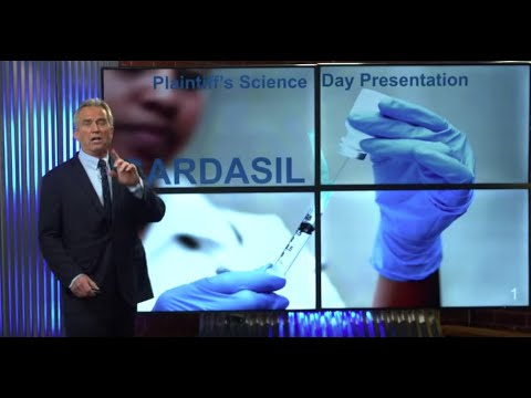 """RFK, Jr.: Gardasil """"The Science"""" Video and Other Facts"""