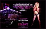 Spanish Doll Bridgette B hosts Colony Hollywood Halloween