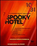 Spooky Hotel W Hollywood Halloween 2014