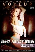 Veronica Lavery Voyeur LA Birthday Bash