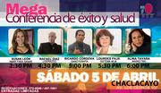 MEGA CONFERENCIA EN CHACLACAYO 5 DE ABRIL