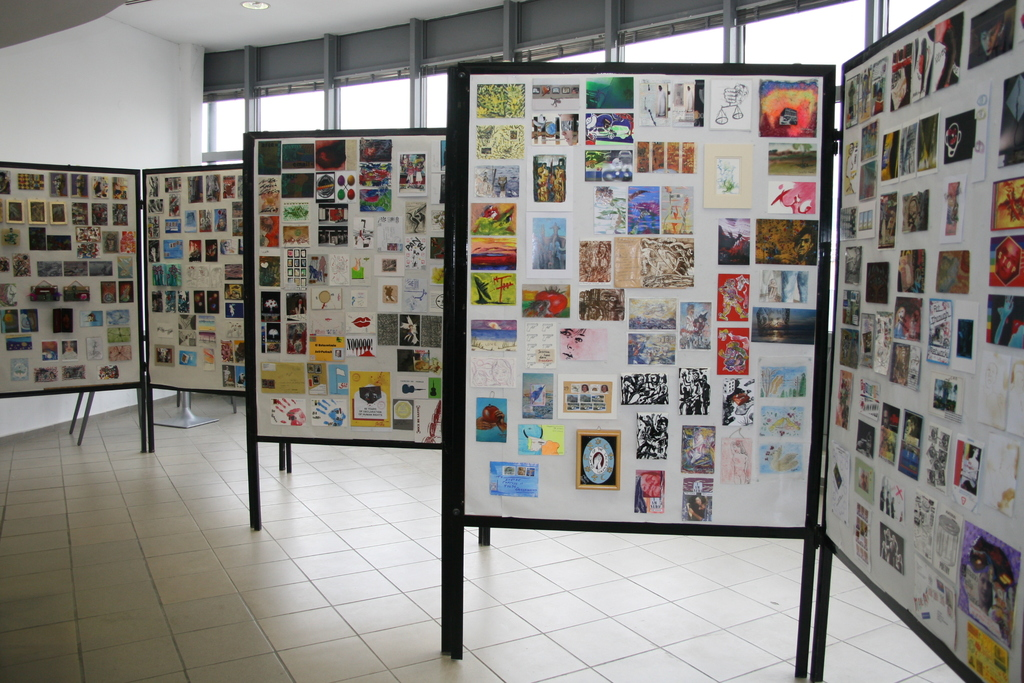 Mail Art exhibit Greece