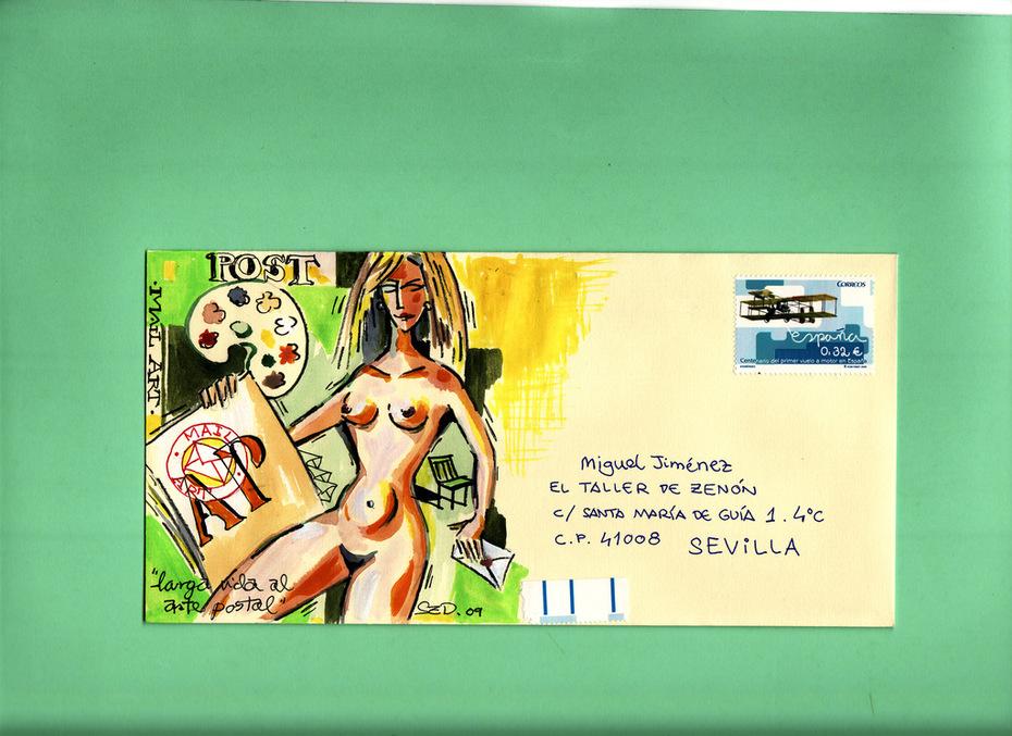 Erotismo y Mail Art