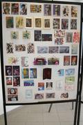 Greek Mail Artists display