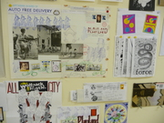 Critical Mass Mail Art Show at pLAyLAnd