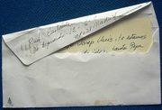 Letter from an artist