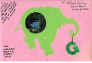 frontside - ARTpool Mail Art exhibit 2010 - 2