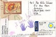Mail-art by Rosa Gravino (Argentina)