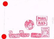 Mail-art by Katerina Nikoltsou (Greece)