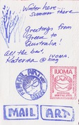 Received Mail Art-IUOMA-Katerina Nikoltsou back