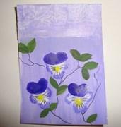 My Grandmother's Flowers ATC