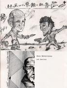 Mail-art show catalog by Grigori Antonin (Minnesota, USA)
