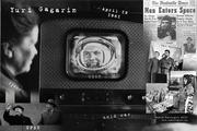 Yuri Gagarin collage by Vadim