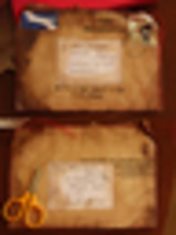 Seamstress envelope -from Lauriana Glenny