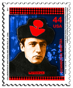 VELIMIR KHLEBNIKOV (STAMP GRAPHIC)