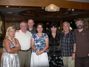 Founding members of the Quebec Association of Romanian Writers
