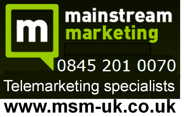 We are an established and professional outbound telemarketing company delivering all your telemarketing requirements whilst establishing a rapport & relationship with your customers.Call now, or email davidsimpson@msm-uk.co.uk