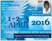 Parade of Nations Global Worship Gathering 2016