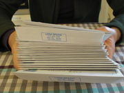 The O-Booklet being sent out