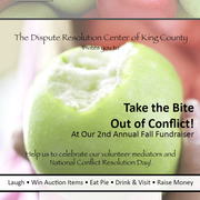DRC of King County Silent Auction and Conflict Resolution Day Celebration