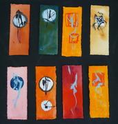 Bookmarks Sword Paintings