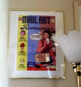 David Stafford's Mail Art Romances Poster
