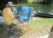 Le Festival de peinture de Magné