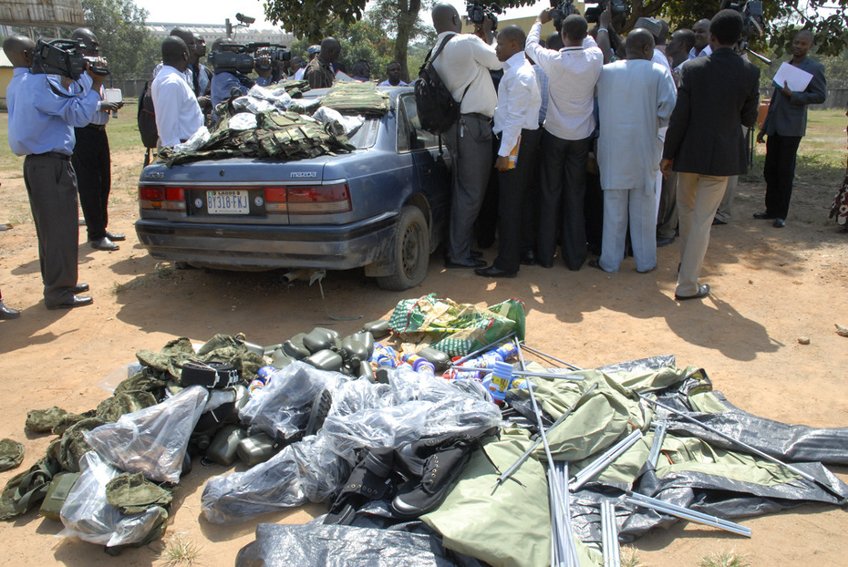 SSS displayed Henry Okah's Military Materials- 4