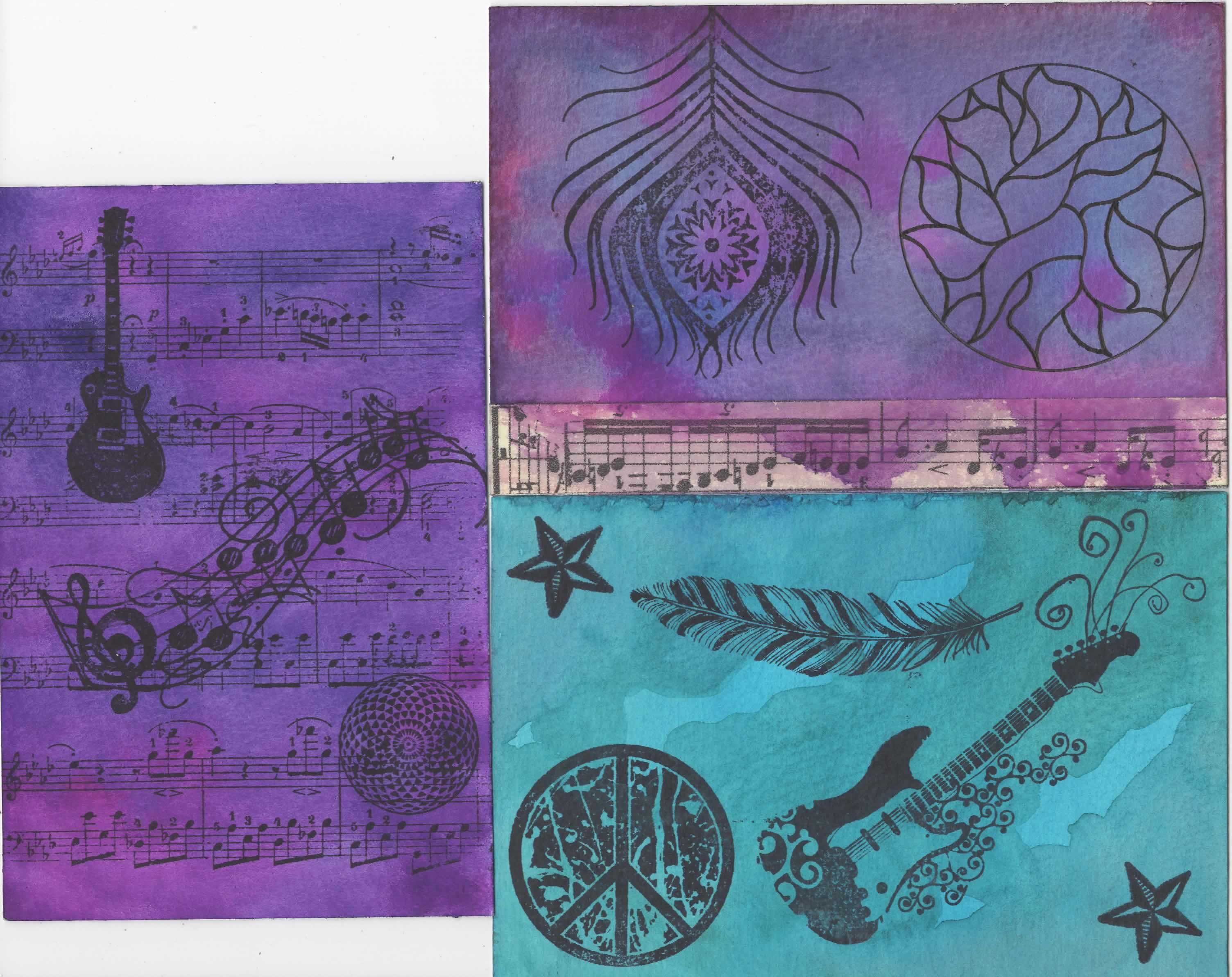 Hippie Dippy postcard set~Austin James