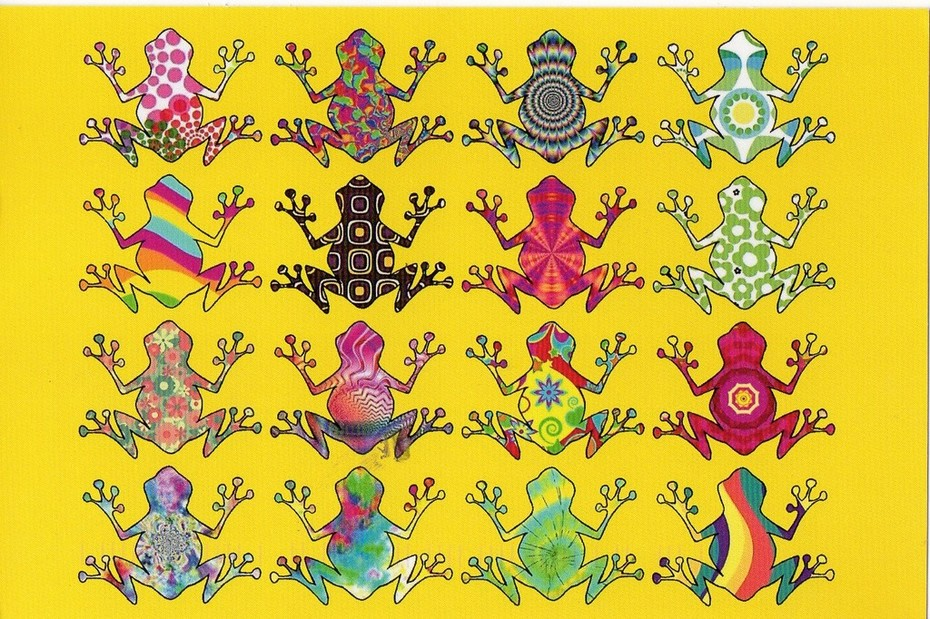 Psychedelic Frogs~Eric Bruth