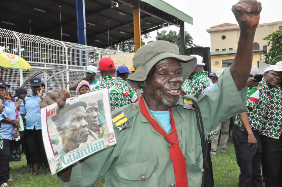 2013 Workers Day Commemoration in Lagos state- 2
