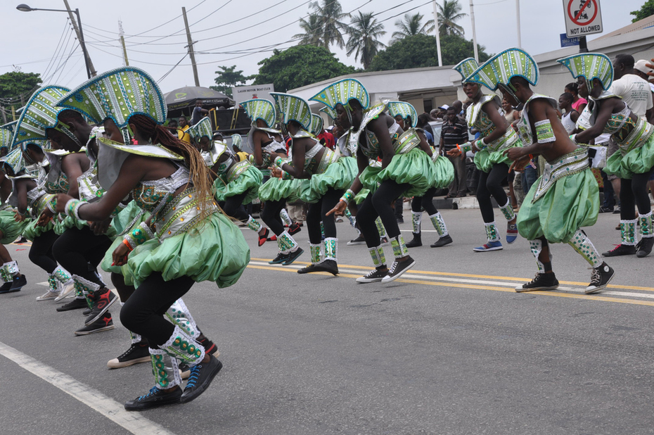 Lagos 2014 Carnival with Fashola and Minister of Tourism- 7