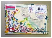 Beautiful envelope from M Nidham