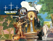 Trashpo Jesus - Jim Leftwich bestows Trashpo upon Diane Keys in the shadow of Walmart