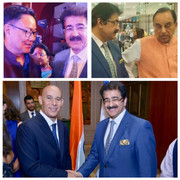 Sandeep Marwah Attended National Day of Israel