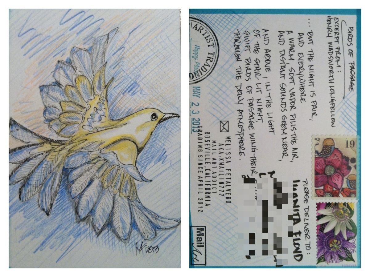 Flight Postcard