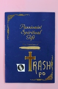 06.07.13 Passionist Spiritual Gift. A Trashpo Book by DK
