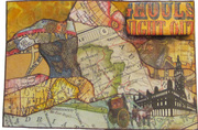 Altered Book-Postcards On The Edge