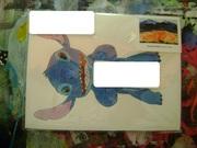 Hand Drawn Stitch Envelope