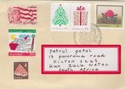 petal mail art