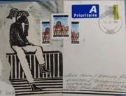 Mail Art no: 2  Lotte Horne, Kbh. Dk