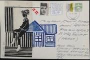Mail Art no: 1 to Caro Line
