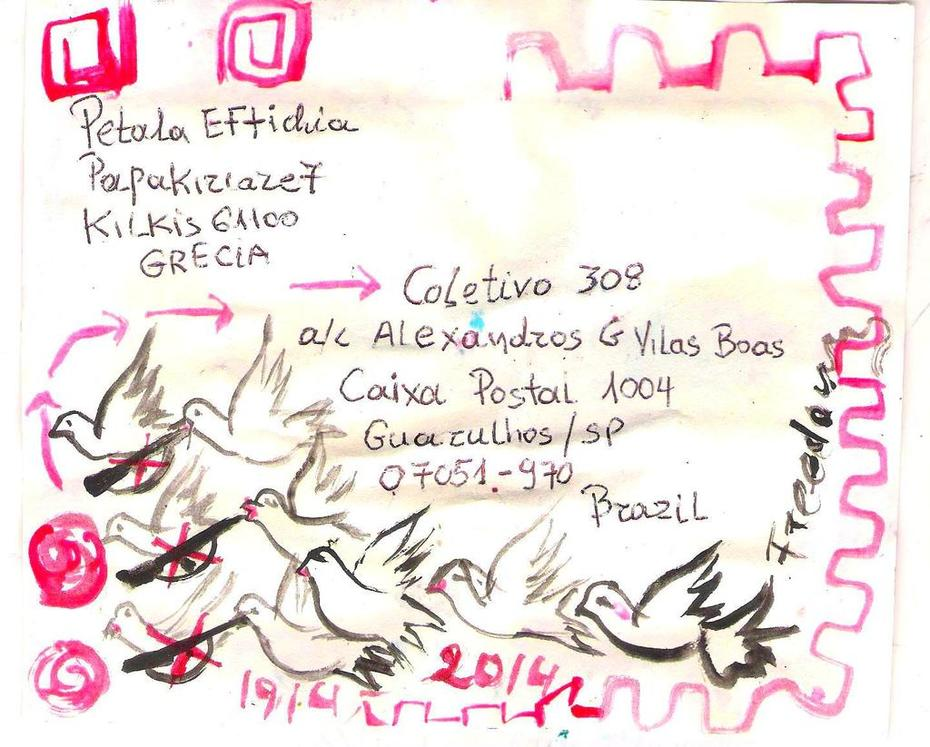 mail art in brazil 1964-2014: 50 YEARS OF ART AGAINST THE STATE